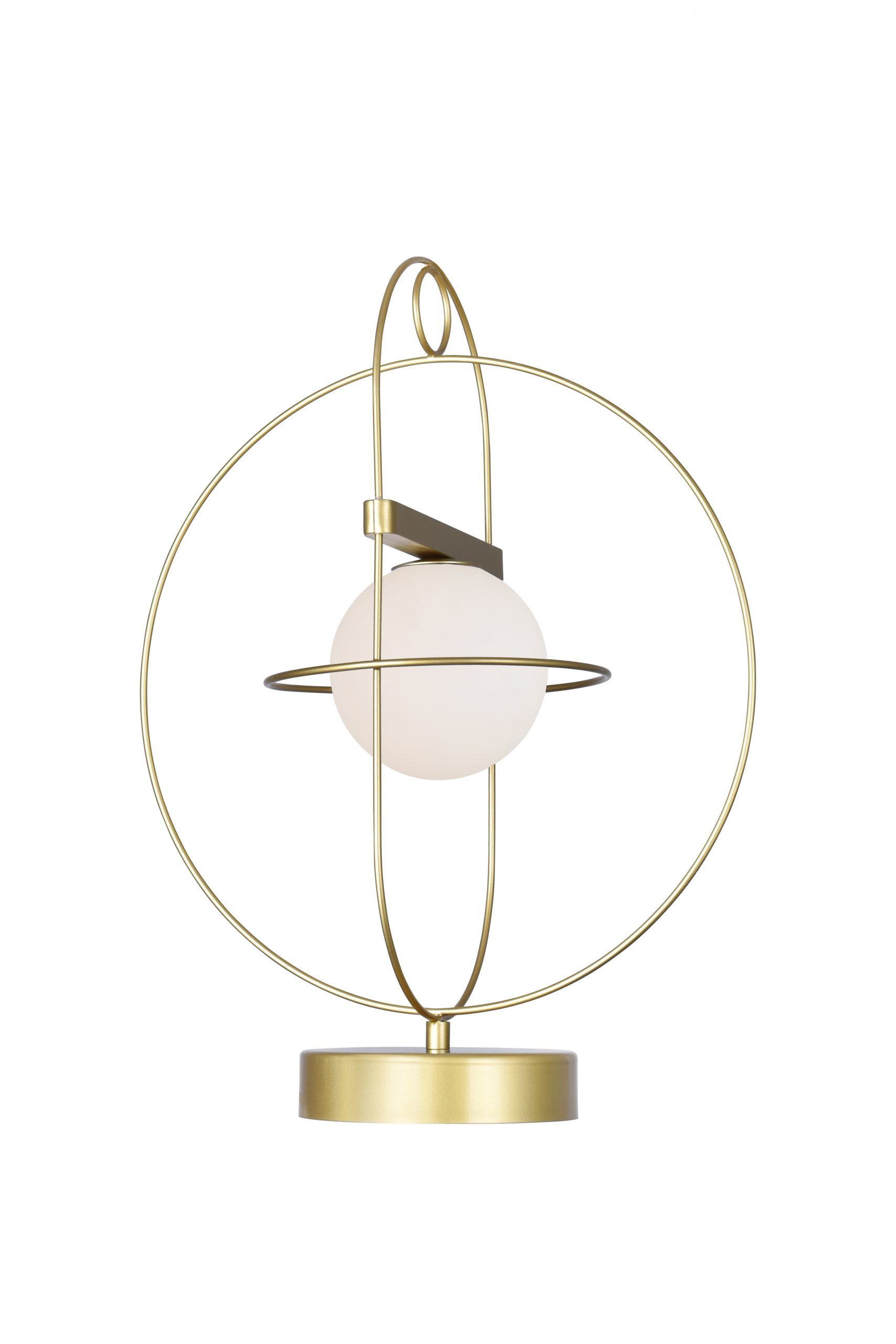 1 Light Lamp with Medallion Gold Finish
