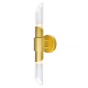 Croissant 2-Light Wall Sconce