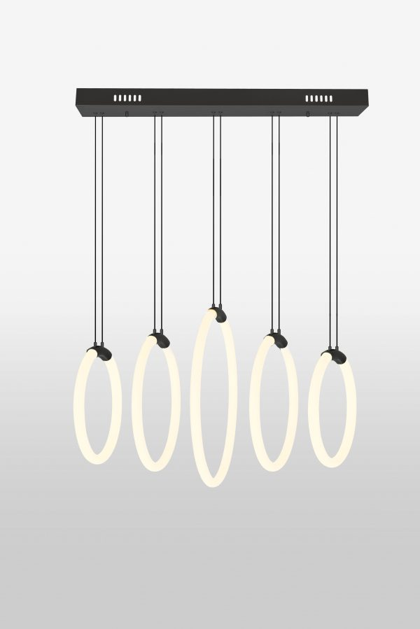 Hoops 5-Light Chandelier
