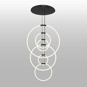 Hoops 6-Light Chandelier