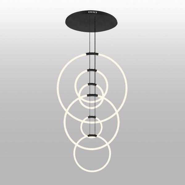 Hoops 6-Light Chandelier